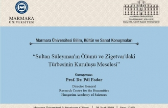 """Sunum: """"Sultan Süleyman'ın Ölümü ve Zigetvar'daki Türbesinin Kuruluşu Meselesi"""""""