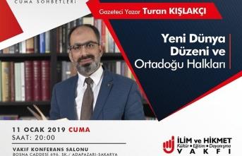 Turan Kışlakçı ile Ortadoğu konferansı