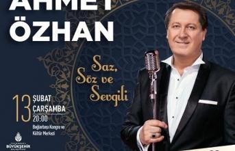 Ahmet Özhan konseri: Saz, Söz ve Sevgili