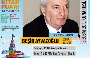 """Beşir Ayvazoğlu ile """"Kitaplarla Yaşamak"""""""