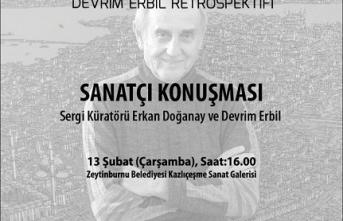 """Devrim Erbil, """"Doğanın Ritmi Retrospektifi"""" ile Zeytinburnu'nda"""