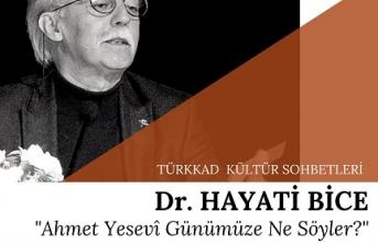 Dr. Hayati Bice Türkkad Kültür Sohbetlerinde