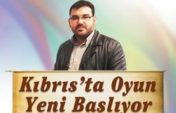 """Konferans: """"Kıbrıs'ta Oyun Yeni Başlıyor"""""""