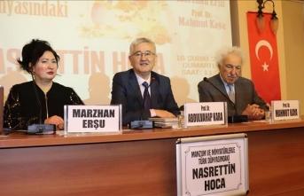 'Manzum ve Minyatürlerle Türk Dünyasındaki Nasrettin Hoca' paneli düzenlendi