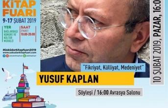 "Yusuf Kaplan: ""Fikriyat, Külliyat, Medeniyet"""