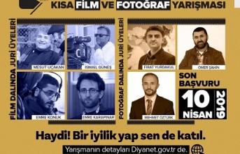 """""""Ailemde İyilik Var"""" konulu kısa film ve fotoğraf yarışması"""