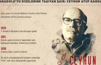 Anadolu'yu dizelerine taşıyan şair: Ceyhun Atuf Kansu