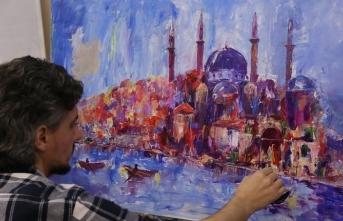 "İstanbul Tasarım Merkezi'nde ""Ressam İlhami Atalay ile Resim Atölyesi"""