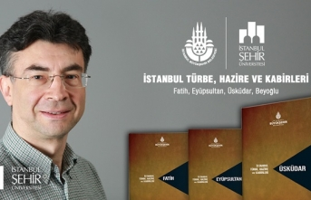 İstanbul Türbe, Hazire ve Kabirleri Envanter Projesi kitapları yayınlandı