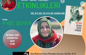 Kayapa Söyleşileri'nin konuğu Ayşe Şener