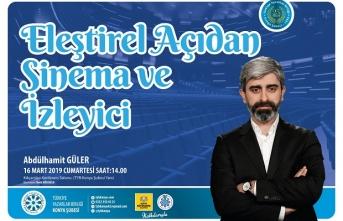 Konya TYB Abdülhamid Güler'i ağırlıyor.