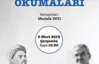 Mustafa Tatcı ile Yunus Emre Okumaları başlıyor