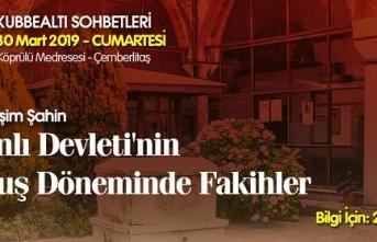 Prof. Dr. Haşim Şahin Kubbealtı Sohbetlerinde