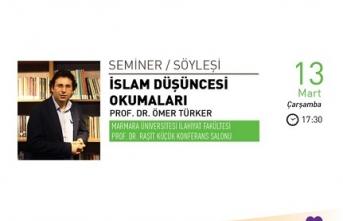Prof. Dr. Ömer Türker ile İslam Düşüncesi Okumaları