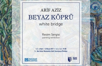 Ressam ve akademisyen Prof. Dr. Arif Aziz'in resim sergisi 'Beyaz Köprü' Nevmekan Galeri'de açılıyor
