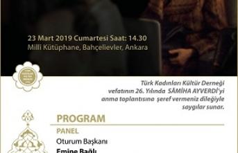 """""""Sâmiha Ayverdi'nin Aziz Hatırasına Saygıyla"""""""