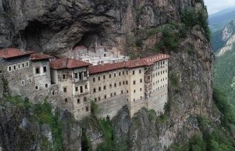 Sümela Manastırı'nın ilk bölümü 18 Mayıs'ta açılıyor