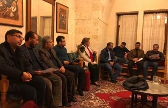 TYB Şanlıurfa şiir meclisinde şehitler ayı konuşuldu