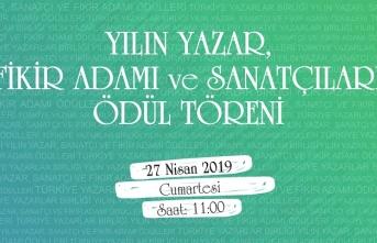 2018 Yılının Ödülleri 27 Nisan'da Ankara'da verilecek