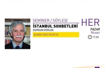 Dursun Gürlek ile İstanbul Sohbetleri