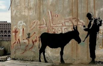 Filistin duvarlarından müzelere Banksy