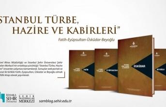 """""""İstanbul Türbe, Hazire ve Kabirleri"""" Envanter Projesi kitaplarına artık online"""