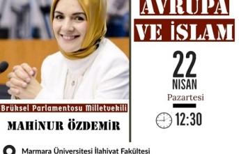 """Marmara İlahiyat'ta """"Avrupa ve İslam"""" konuşulacak"""