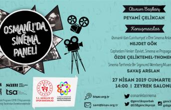 Panel: Osmanlı'da Sinema