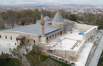 Selçuklu sultanlarının kabrinde kapsamlı restorasyon