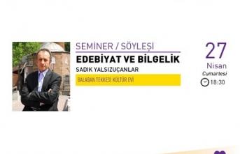 Seminer: Edebiyat ve Bilgelik