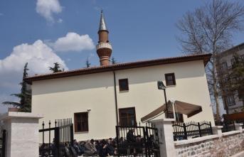 Soğukpınar Camii yeniden ibadete açıldı