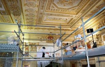 Tarihe tanıklık eden Süfera Salonu restore ediliyor