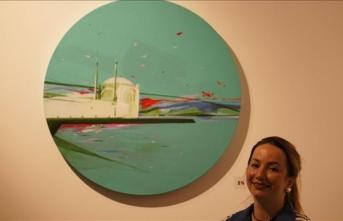 Ukraynalı ressamların eserlerinden oluşan sergi açıldı