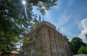 'Vezirler Şehri'ndeki Alaca Cami yenilendi