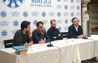 Ahmet Edip Başaran TYB İstanbul'da konuştu