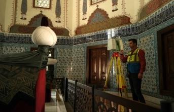 Bursa'da tarihe lazerli koruma