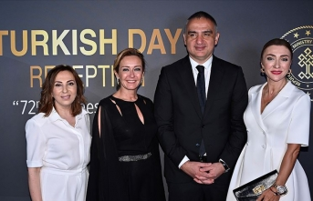 Cannes'da Türk Günü Resepsiyonu