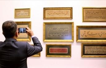 'Ekrem Hakkı Ayverdi'nin Kalem Güzelleri' sergisi açıldı