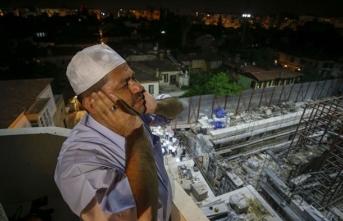 Fethin simgesi camide 123 yıl sonra ilk ezan okundu
