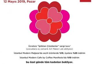 """İstanbul Modern'de """"Annem İçin Sanat Molası"""""""