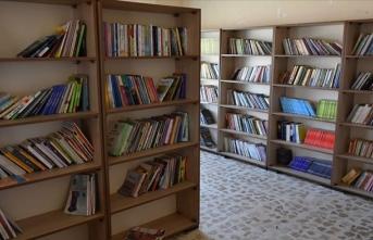 Kerkük'ün ilk köy kütüphanesi açıldı