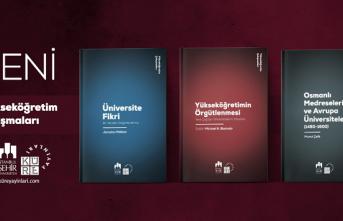 Küre Yayınları 'Yükseköğretim Çalışmaları Dizisi'nin ilk üç kitabını yayınlıyor.