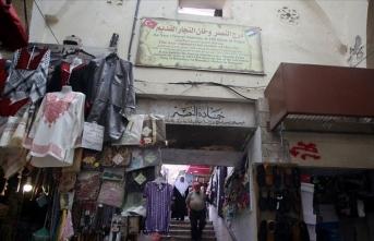 Nablus'un Osmanlı yapıtı 'Kapalı Çarşısı' yoğun ilgi görüyor