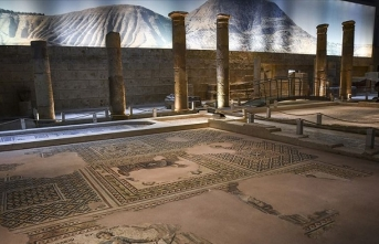 Zeugma Mozaik Müzesi'nin hedefi 1 milyon ziyaretçi