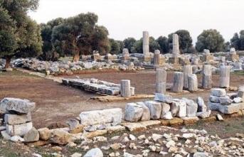 12 bin yıllık 'Dionysos Tapınağı' gün yüzüne çıkarılacak