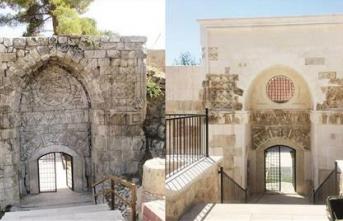 800 yıllık kapı restorasyon kurbanı