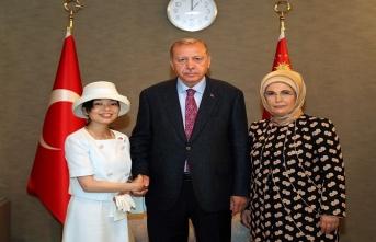 Cumhurbaşkanı Erdoğan, dünyayı gezen Ara Güler Sergisi'nin Japonya'daki gösteriminin açılışını yaptı.