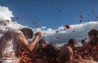 "Kolombiya'da ""La Tomatina"" Festivali"