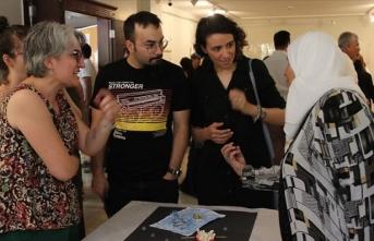 Türk ve Suriyeli kadınlar sergi açtı