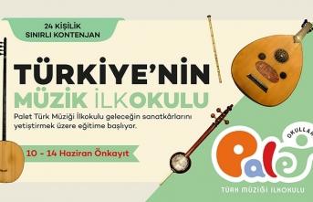 """Türkiye'nin ilk """"Müzik İlkokulu"""" için kayıtlar başladı"""